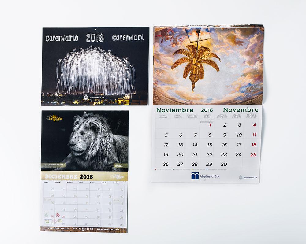 Calendarios ABECE Artes Graficas